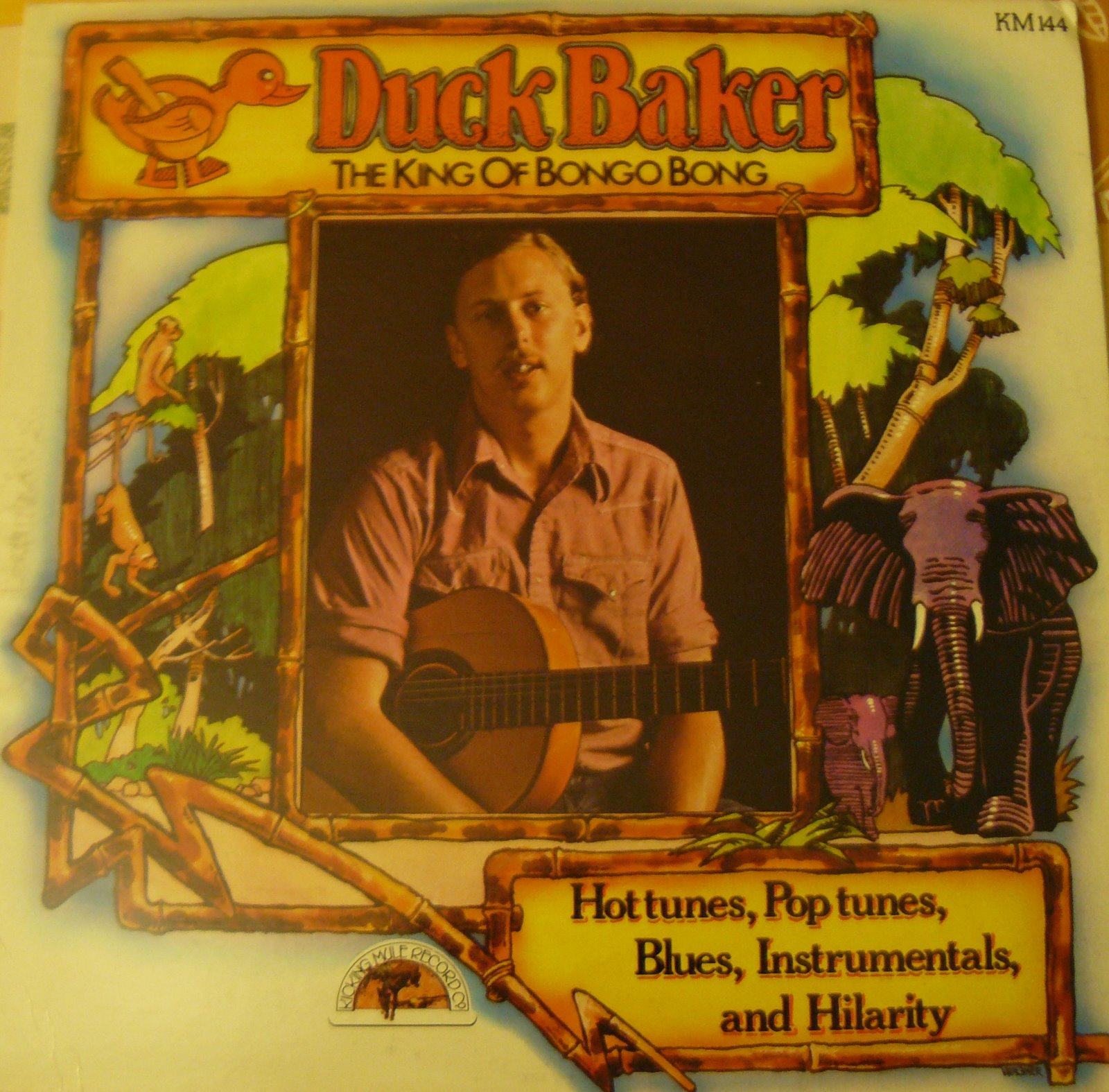 Duck Baker - The King Of Bongo Bong
